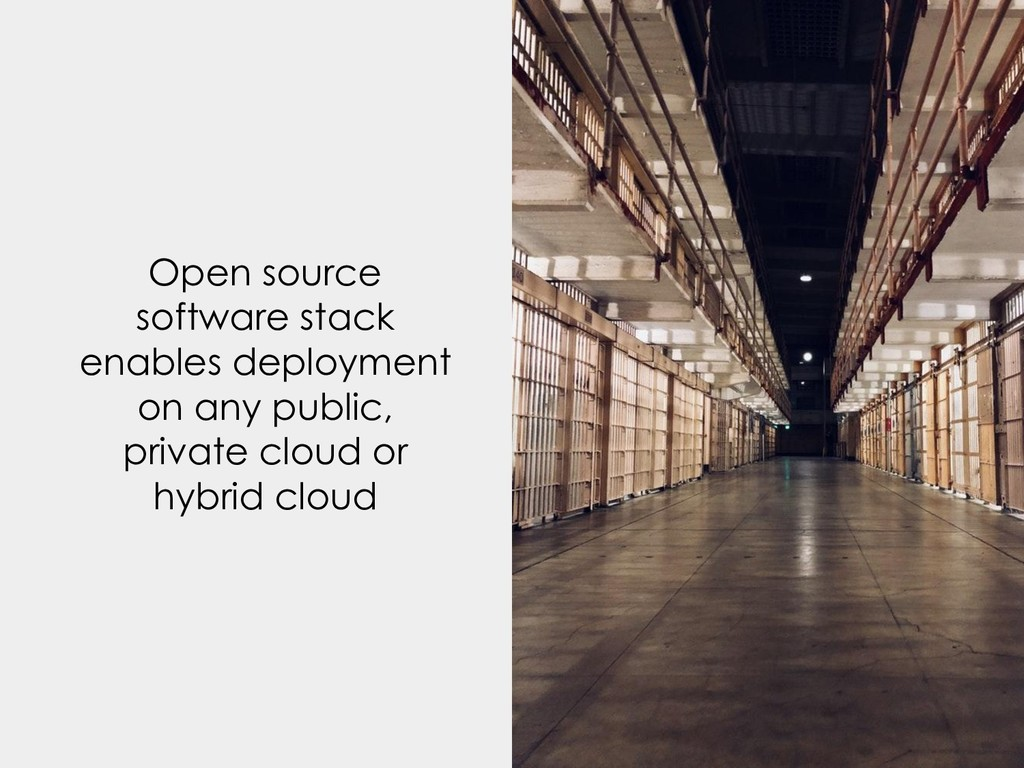 Open source software stack enables deployment o...