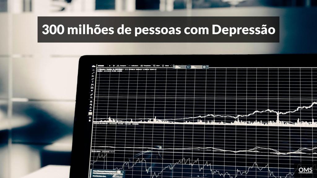 300 milhões de pessoas com Depressão OMS