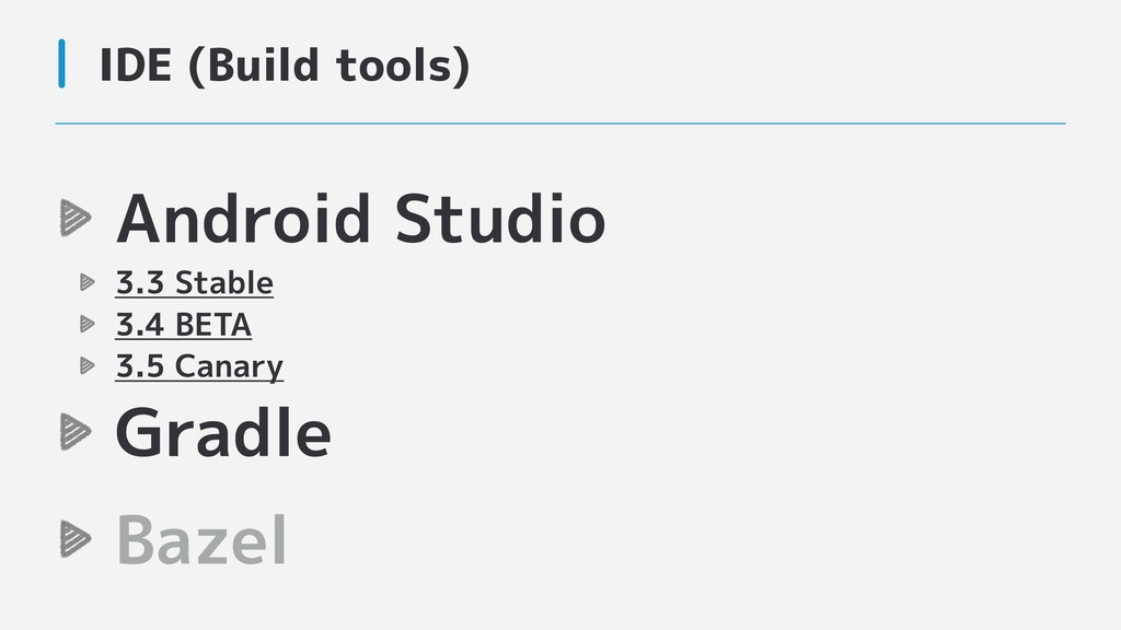 Android Studio 3.3 Stable 3.4 BETA 3.5 Canary G...