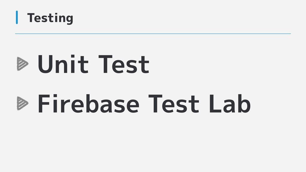 Testing Unit Test Firebase Test Lab