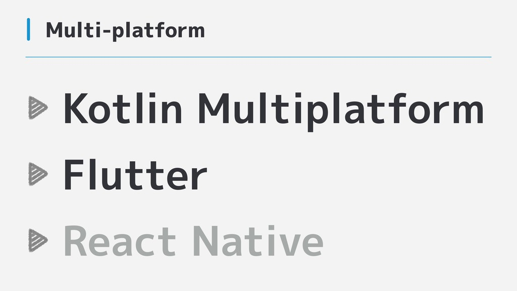 Multi-platform Kotlin Multiplatform Flutter Rea...