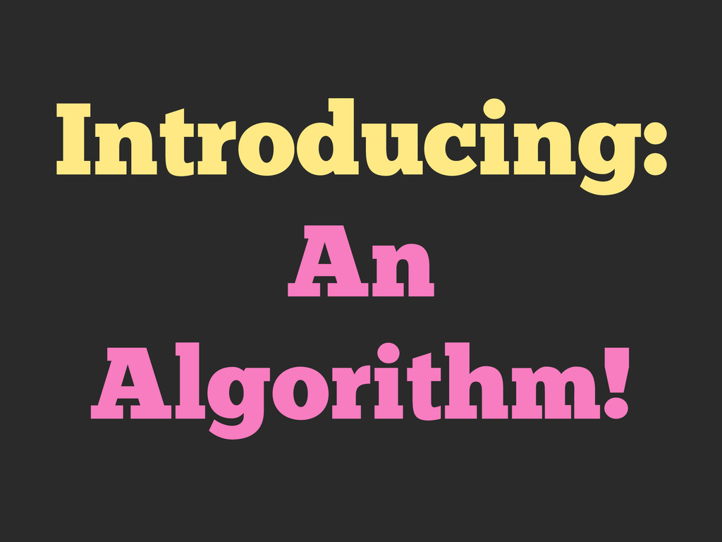 Introducing: