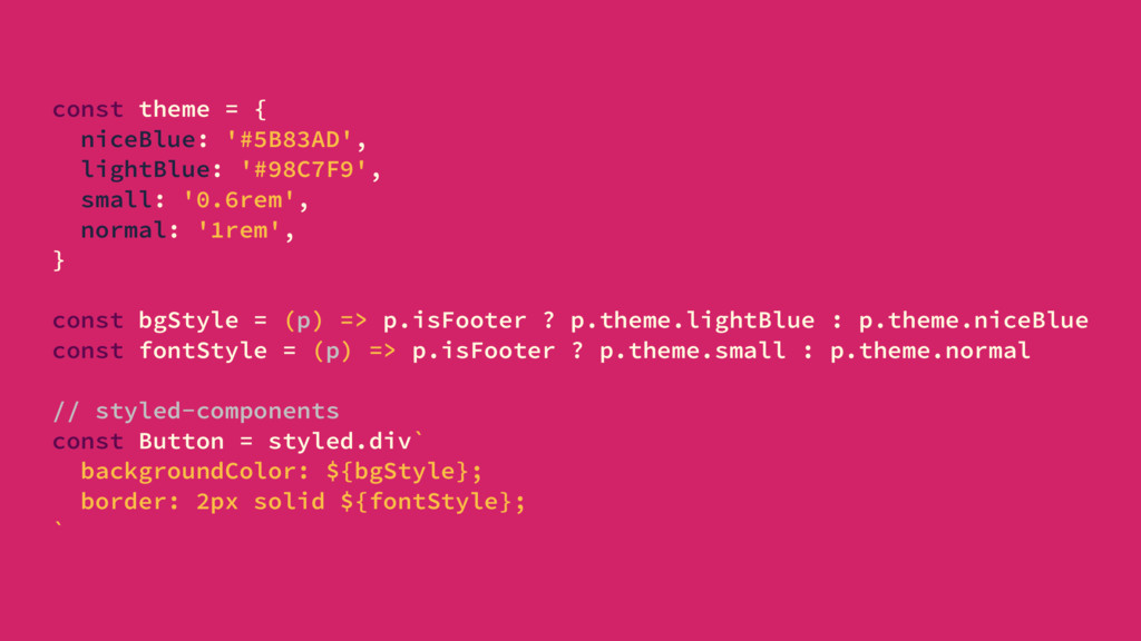 const theme = { niceBlue: '#5B83AD', lightBlue:...