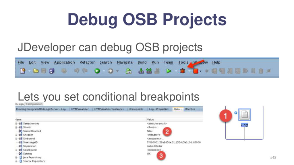 Debug OSB Projects Frank Munz 2016 #48 JDevelop...