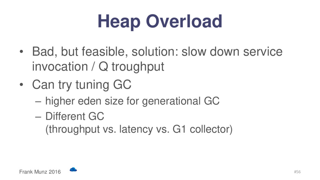 Heap Overload • Bad, but feasible, solution: sl...