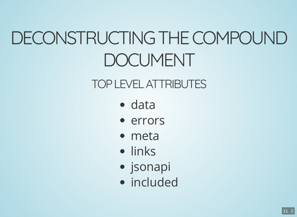DECONSTRUCTING THE COMPOUND DOCUMENT TOP LEVEL ...