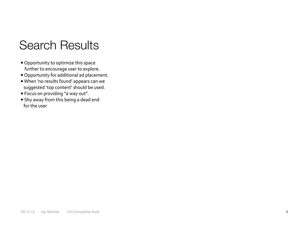 09.12.13 Jay Ramirez UX Competitive Audit 4 Sea...