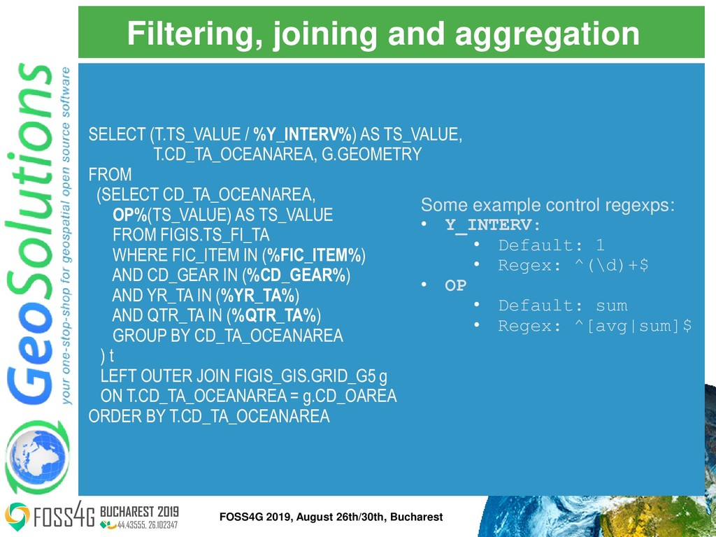 Filtering, joining and aggregation Some example...