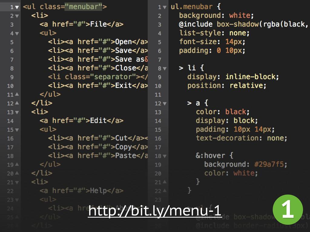 1 http://bit.ly/menu-1