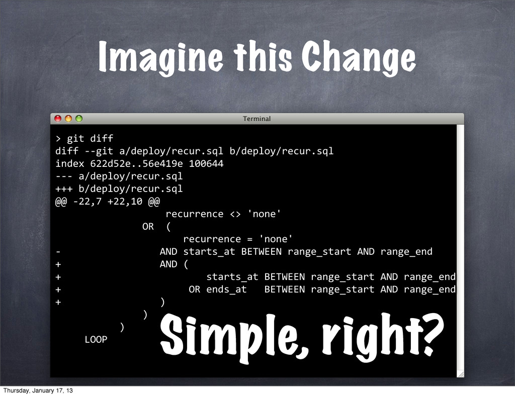 Imagine this Change 	