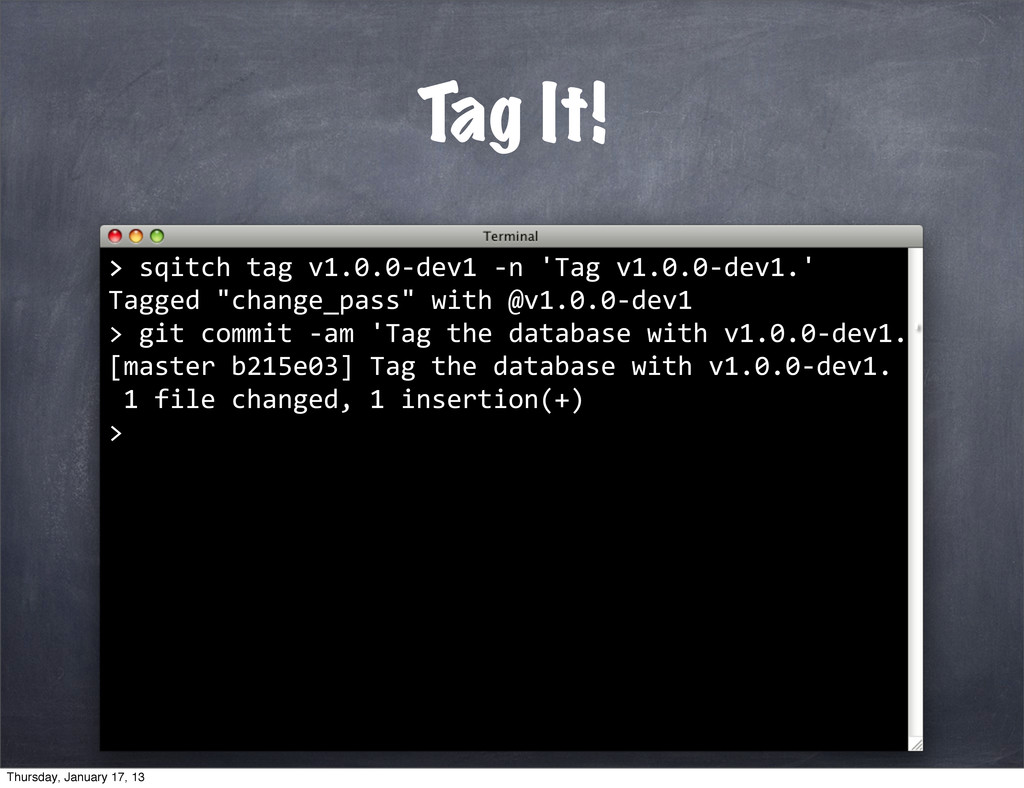 Tag It! > >	