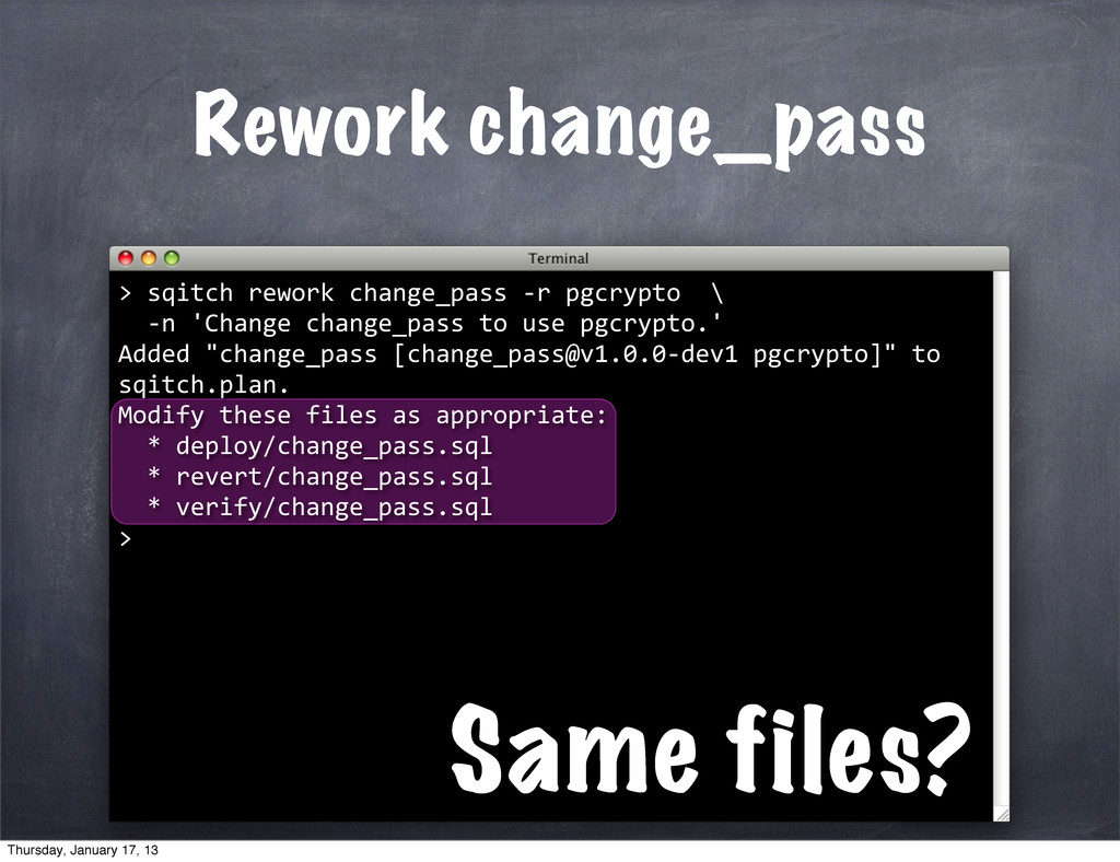 Rework change_pass > Same files? 	