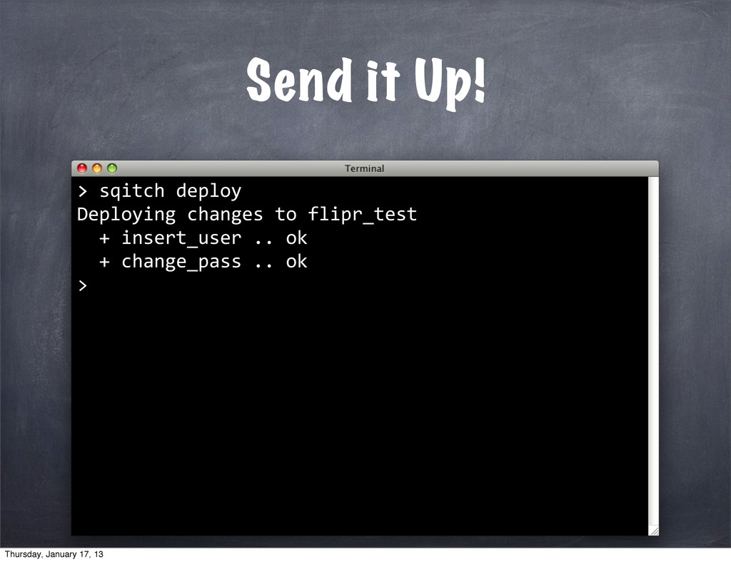 Send it Up! >	