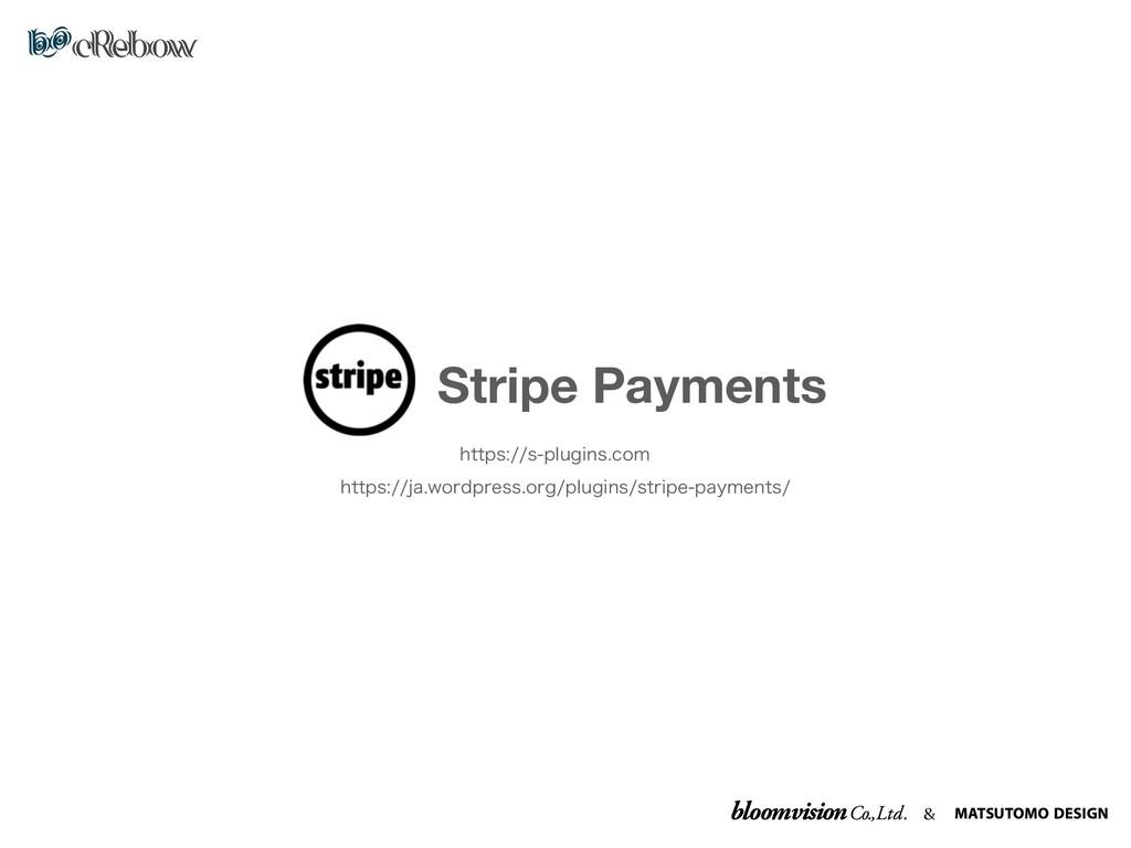 & Stripe Payments IUUQTTQMVHJOTDPN IUUQT...