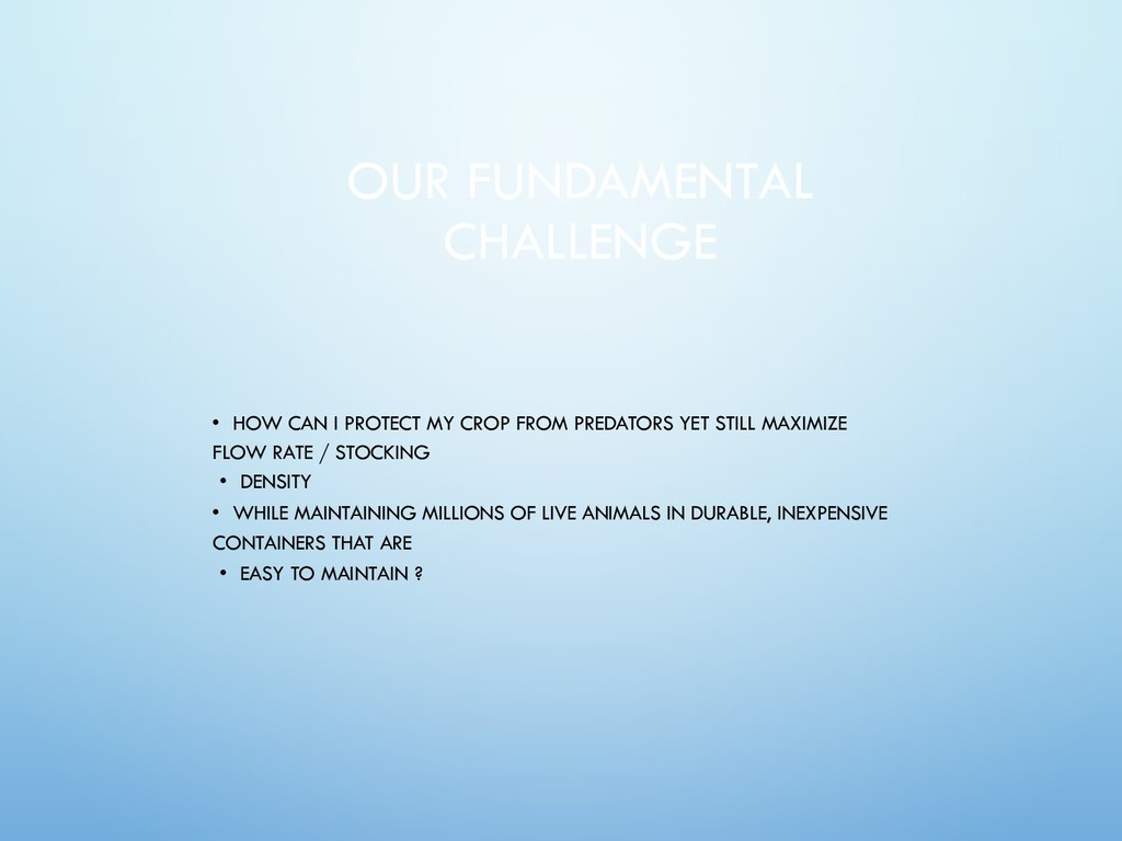 OUR FUNDAMENTAL CHALLENGE • HOW CAN I PROTECT M...