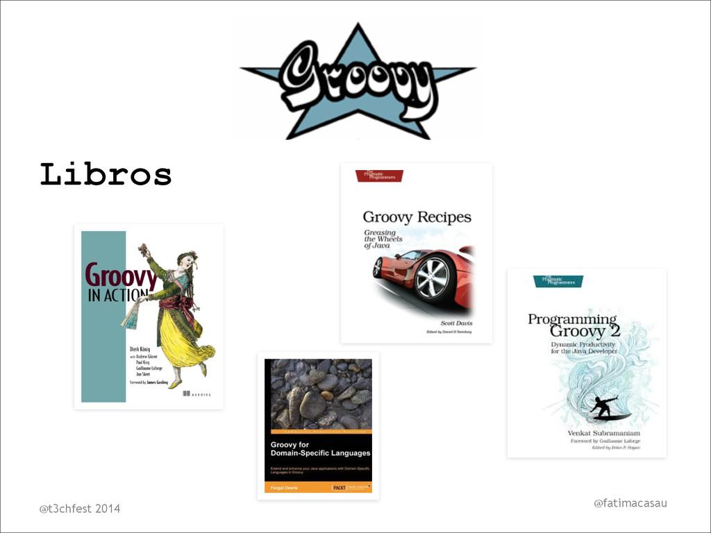 @fatimacasau Libros ! @t3chfest 2014