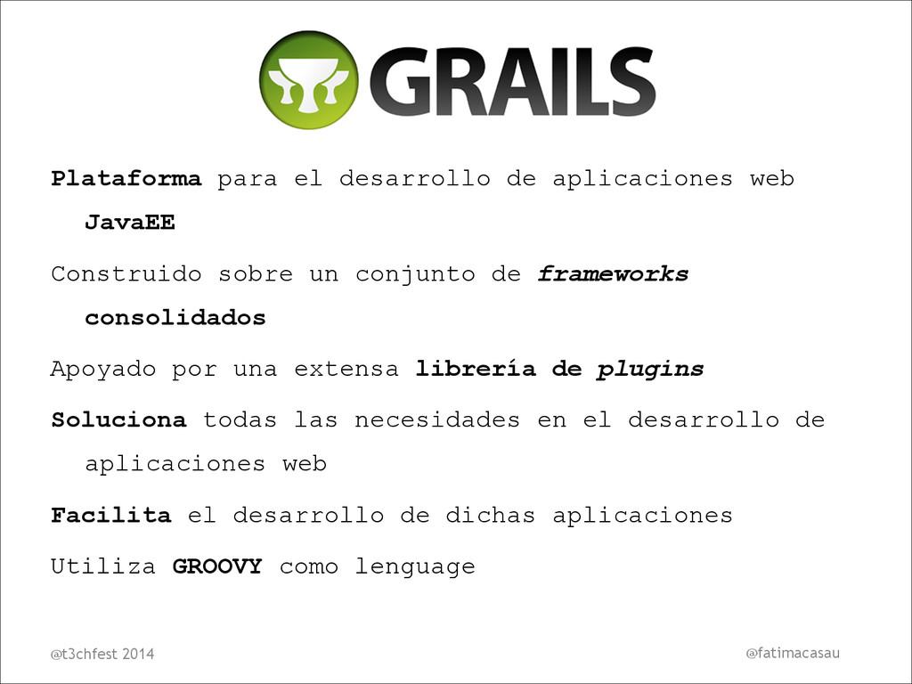Plataforma para el desarrollo de aplicaciones w...