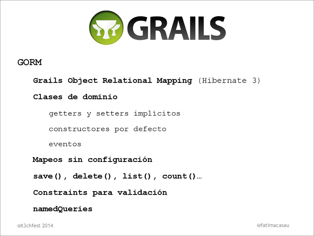 GORM Grails Object Relational Mapping (Hibernat...