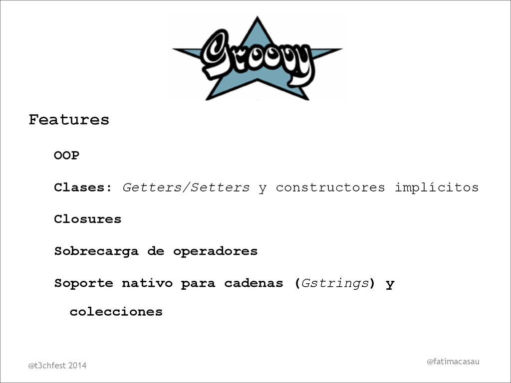 @fatimacasau Features OOP Clases: Getters/Sette...