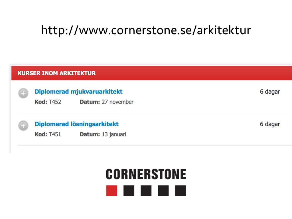 http://www.cornerstone.se/arkitektur
