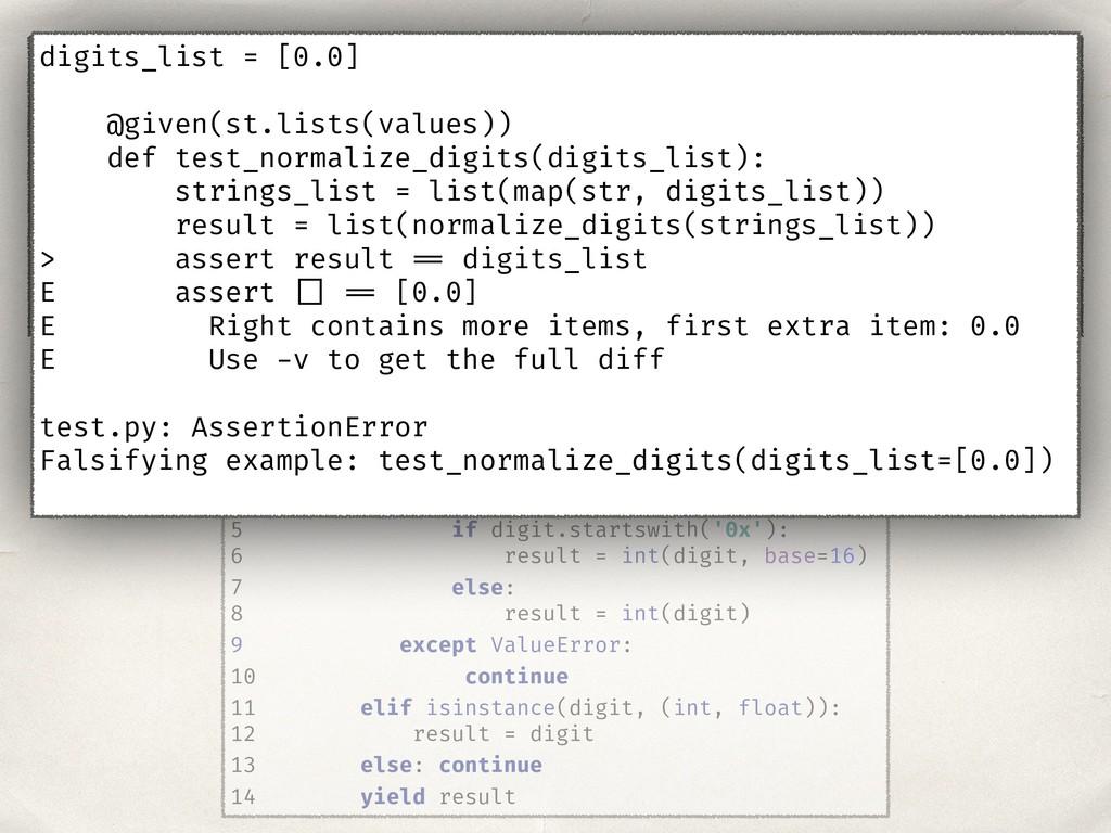 1 def normalize_digits(digits_list): 2 for digi...