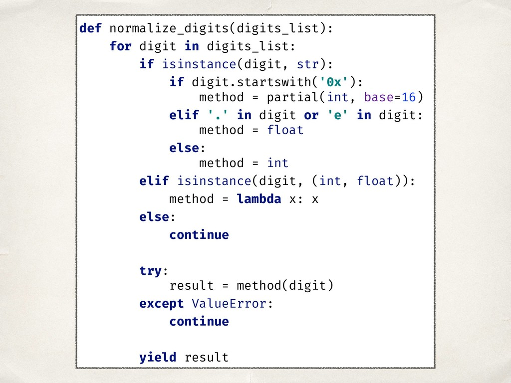 def normalize_digits(digits_list): for digit in...