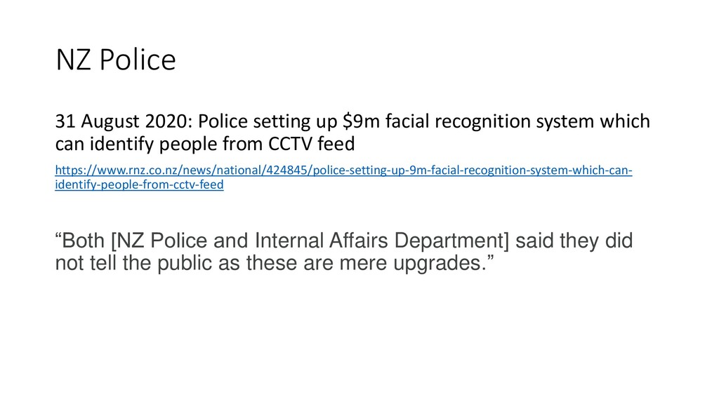 NZ Police 31 August 2020: Police setting up $9m...