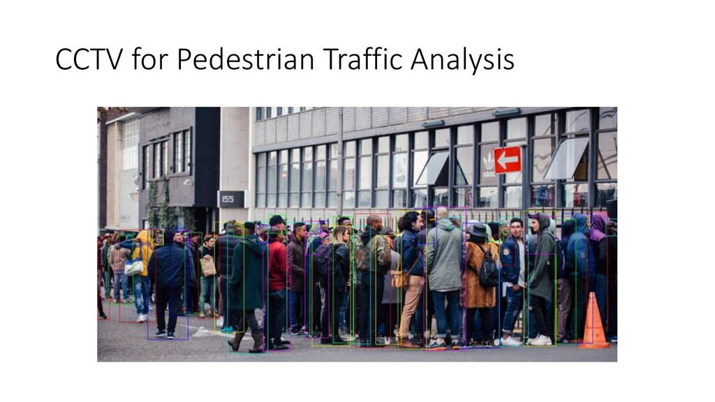 CCTV for Pedestrian Traffic Analysis