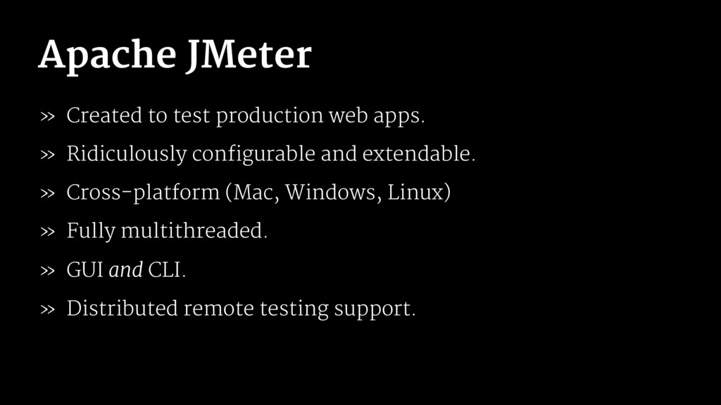 Apache JMeter » Created to test production web ...