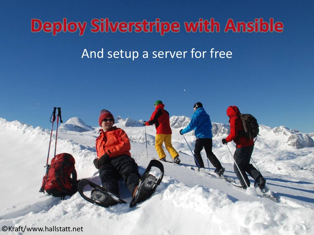 Deploy Silverstripe with Ansible And setup a se...