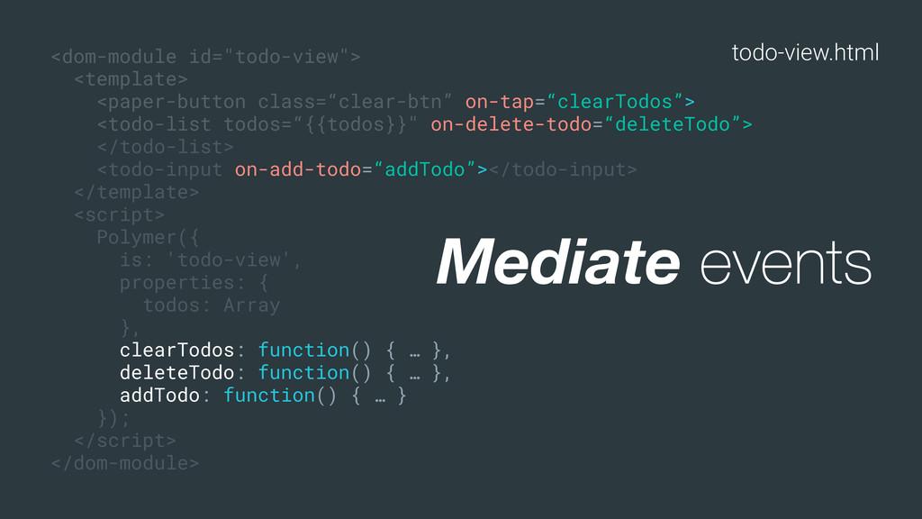 "todo-view.html <dom-module id=""todo-view""> <tem..."