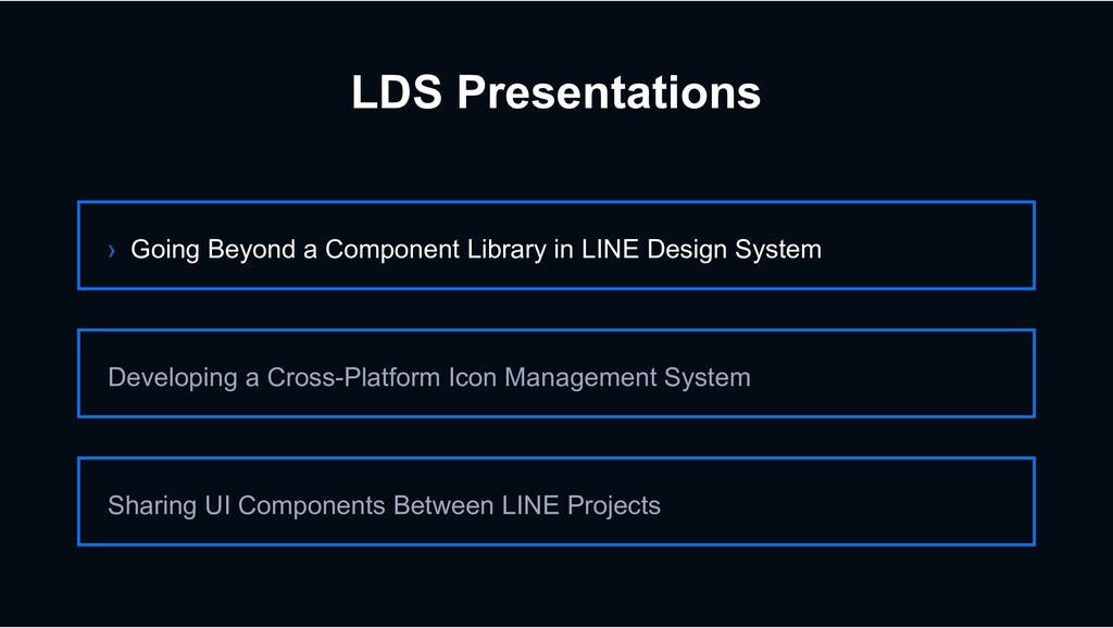 LDS Presentations › Going Beyond a Component Li...