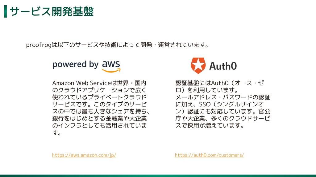 サービス開発基盤 64 Amazon Web Serviceは世界・国内 のクラウドアプリケー...