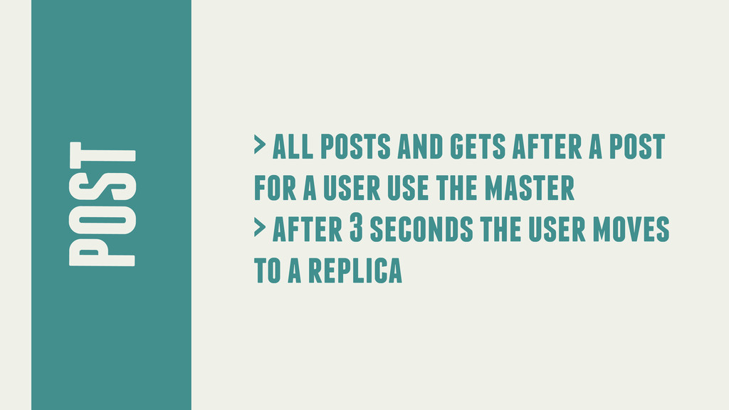 POST > all posts and gets after a post for a us...