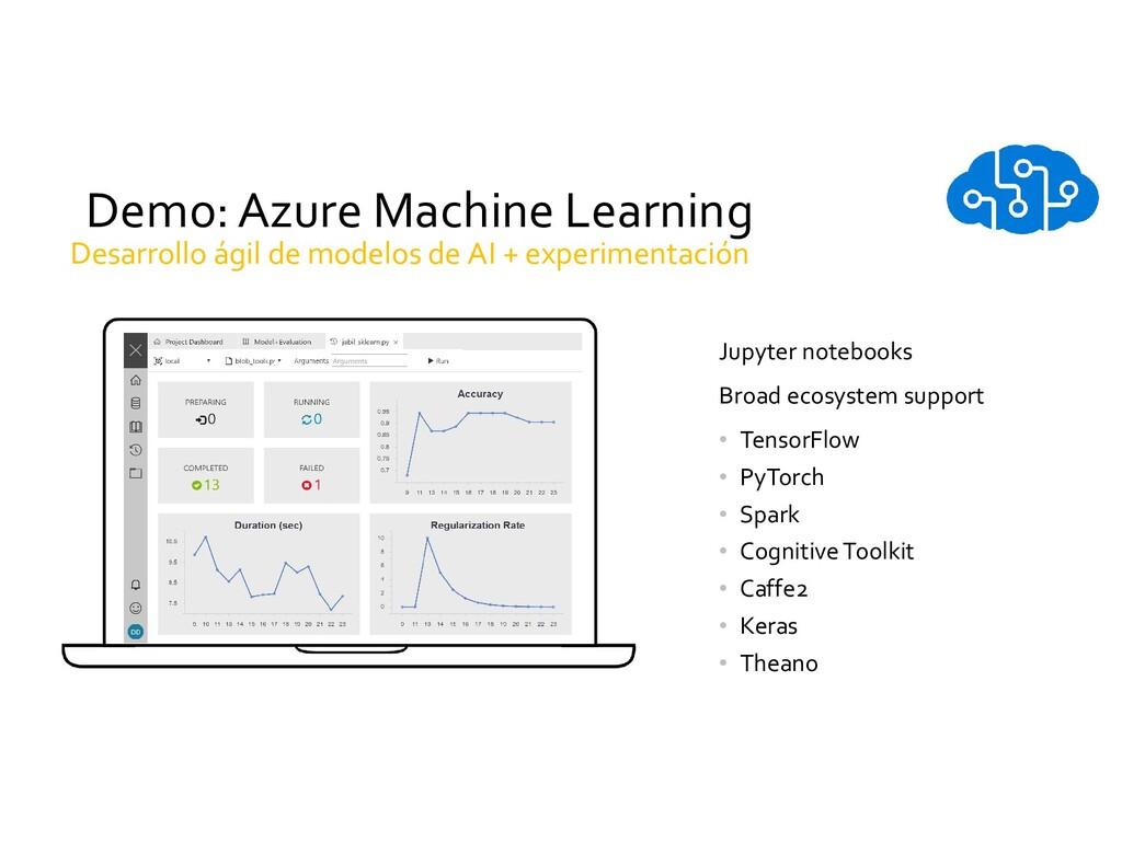 Demo: Azure Machine Learning Jupyter notebooks ...