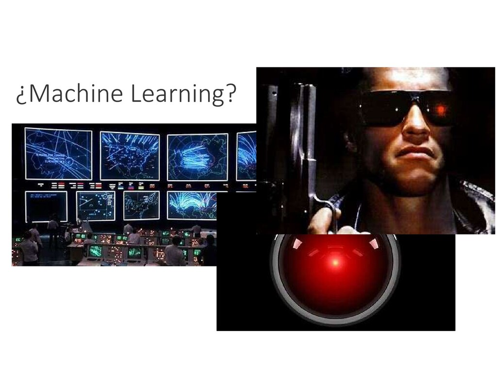 ¿Machine Learning?