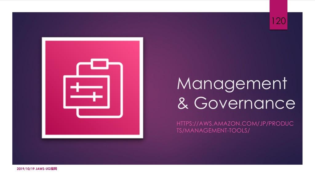 Management & Governance HTTPS://AWS.AMAZON.COM/...