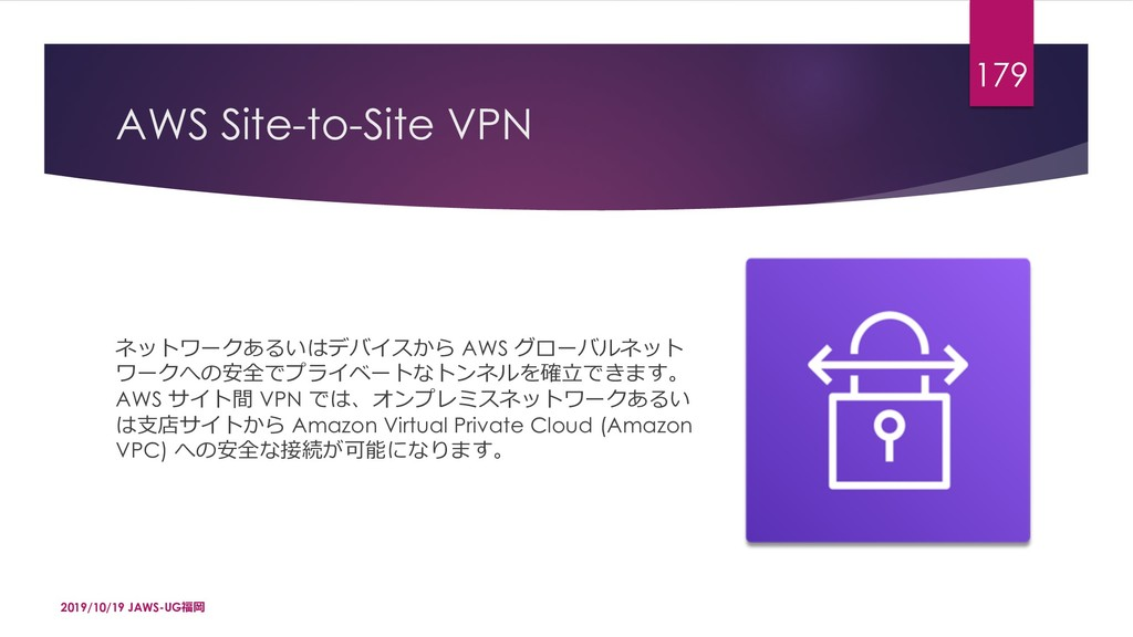 """AWS Site-to-Site VPN umq•ZG4pxPdE AWS [""""x'..."""