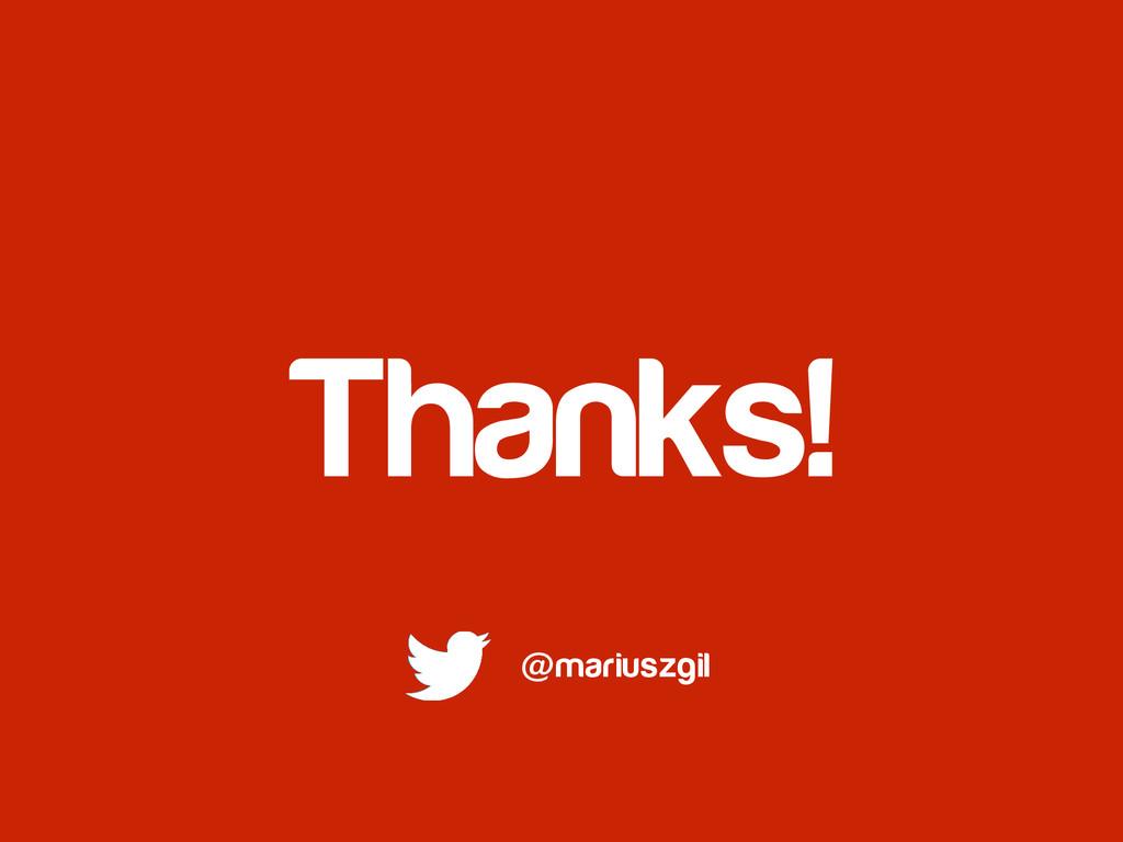 Thanks! @mariuszgil