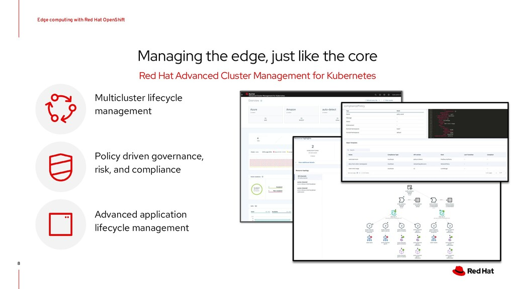 Edge computing with Red Hat OpenShift 8 Managin...