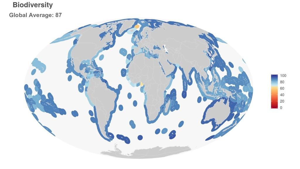 Global Average: 87
