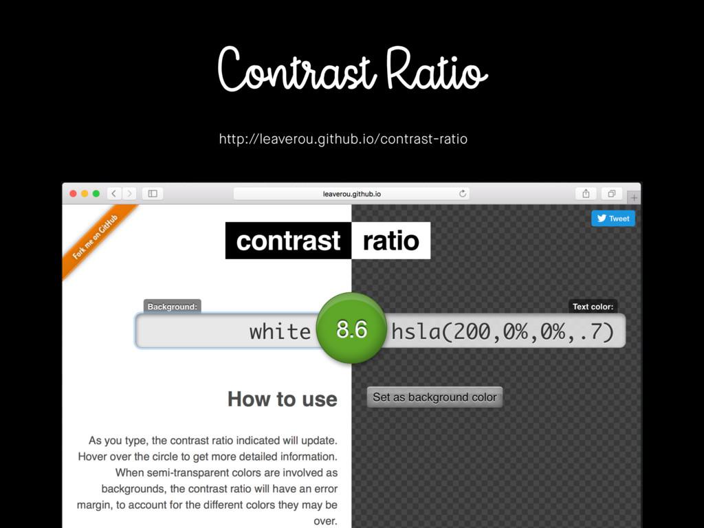 Contrast Ratio http://leaverou.github.io/contra...