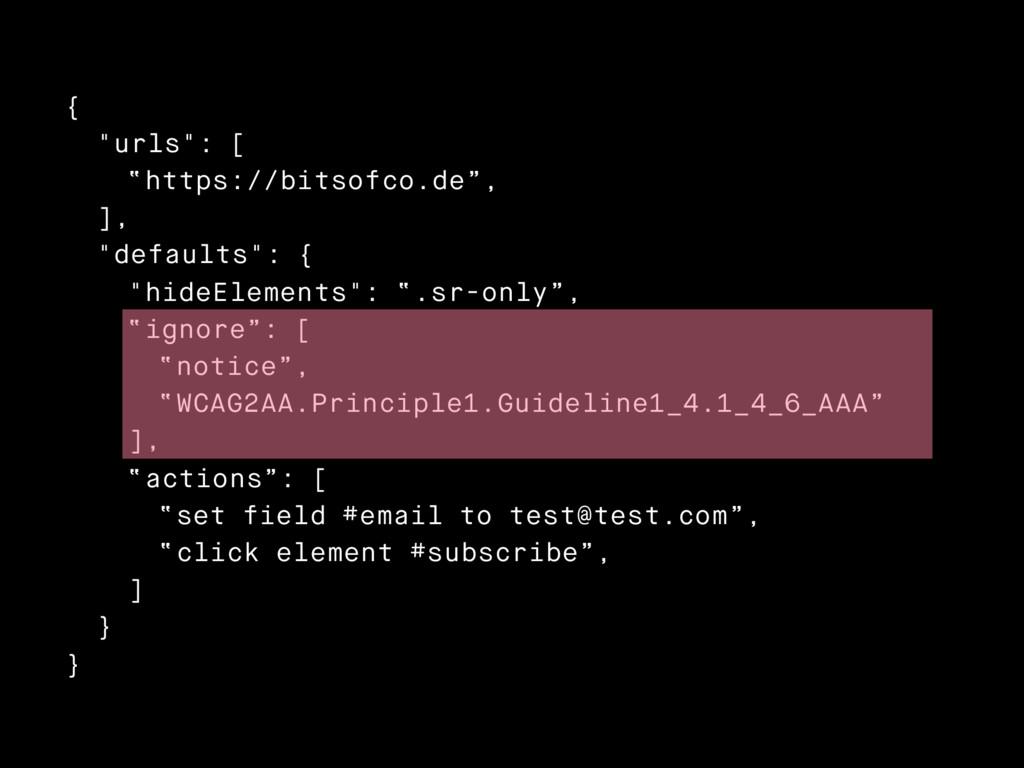"{ ""urls"": [ ""https://bitsofco.de"", ], ""defaults..."