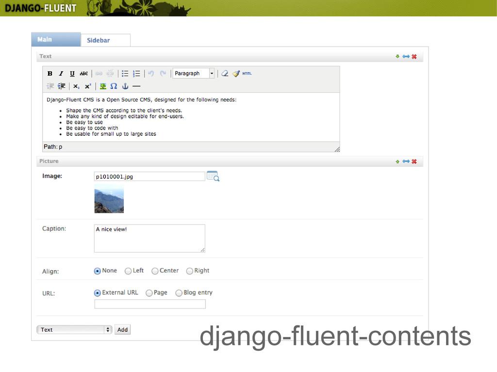 django-fluent-contents