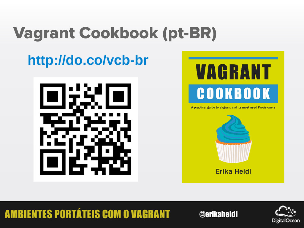Vagrant Cookbook (pt-BR) http://do.co/vcb-br