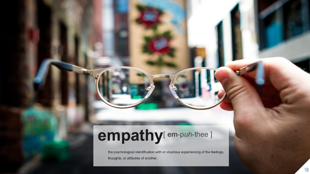 empathy[ em-puh-thee ] the psychological identi...