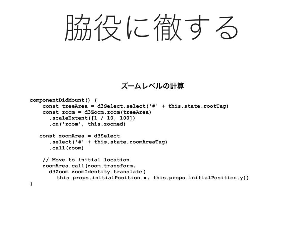 ʹప͢Δ componentDidMount() { const treeArea = d...