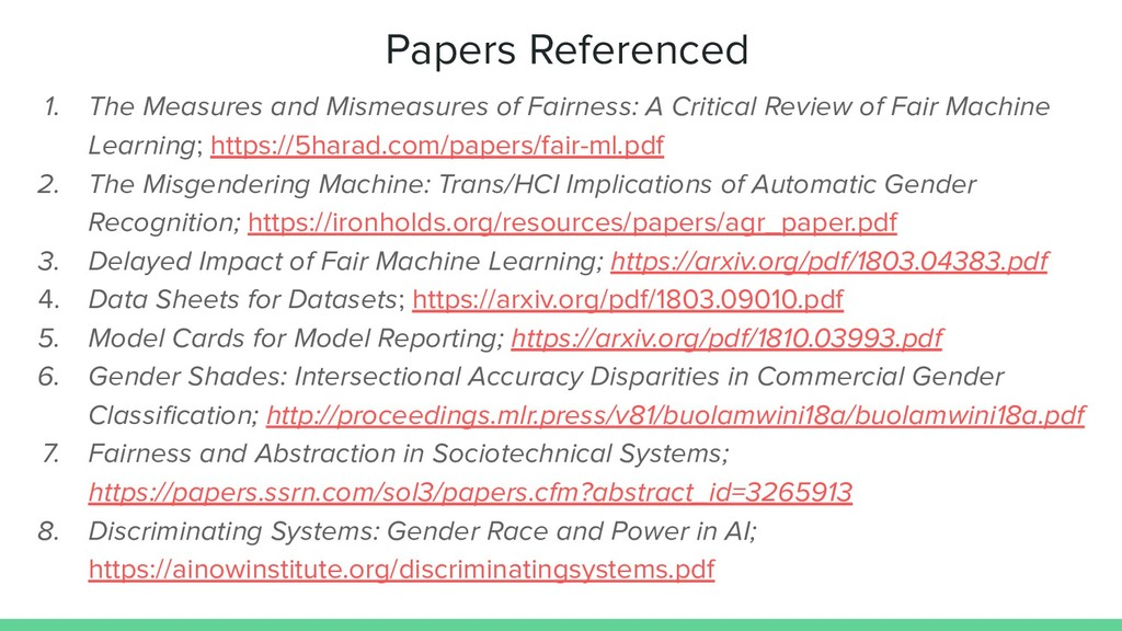 Papers Referenced 1. The Measures and Mismeasur...
