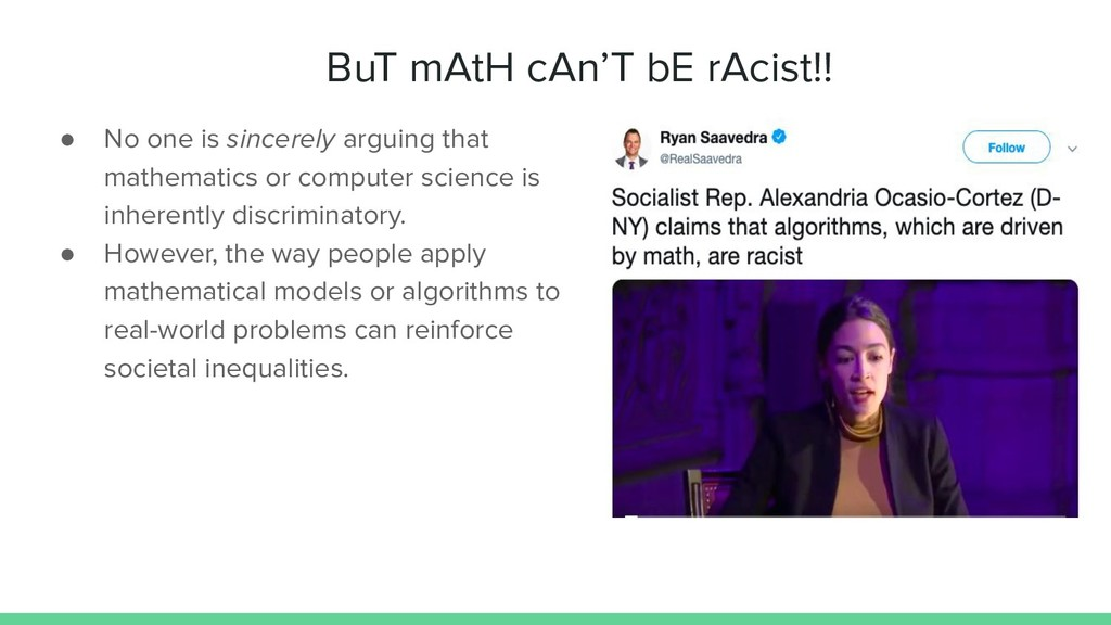 BuT mAtH cAn'T bE rAcist!! ● No one is sincerel...