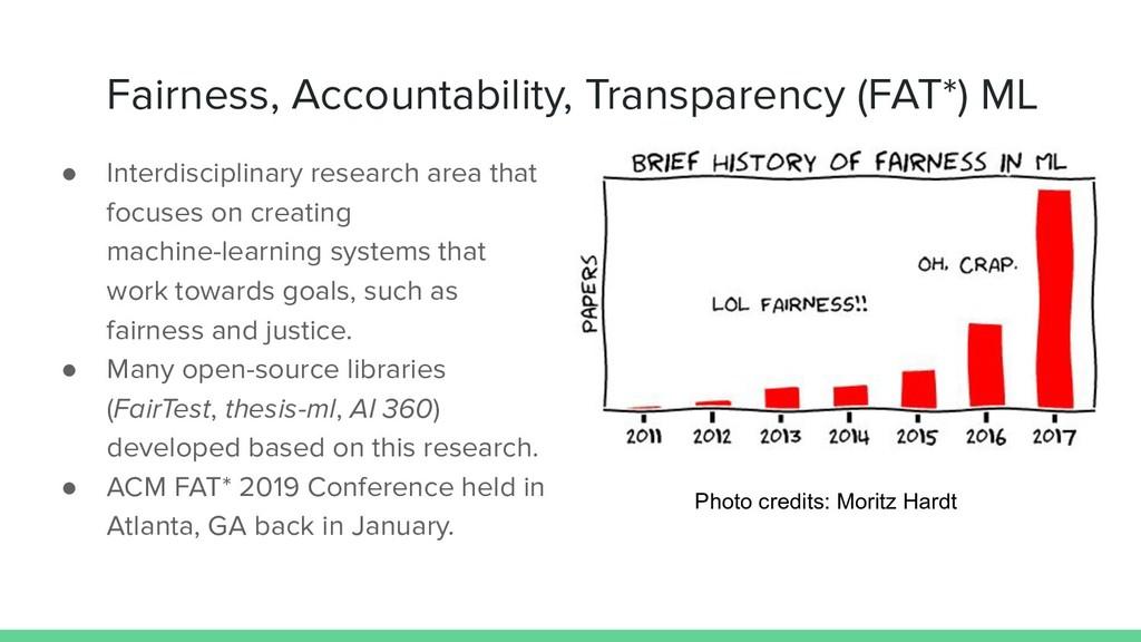 Fairness, Accountability, Transparency (FAT*) M...